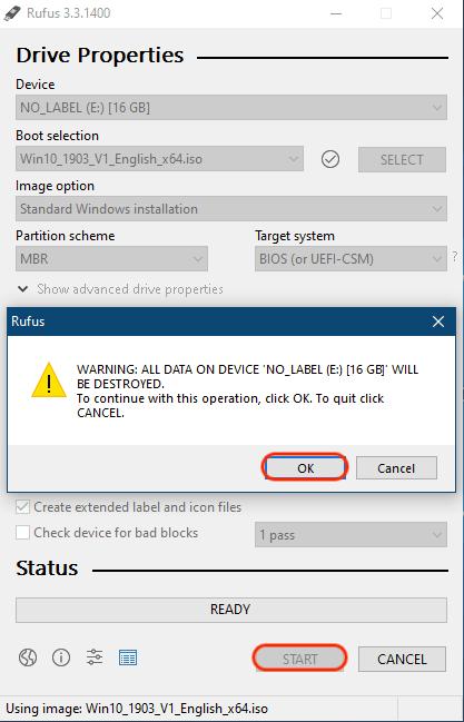 Proses Pembuatan Bootable