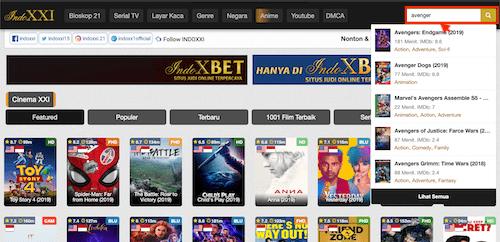 Mencari Film Favorit Situs IndoXXI